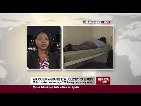 Aline Mugisho, PR for Africa Diaspora Forum SA, speaks on Lampedusa tragedy