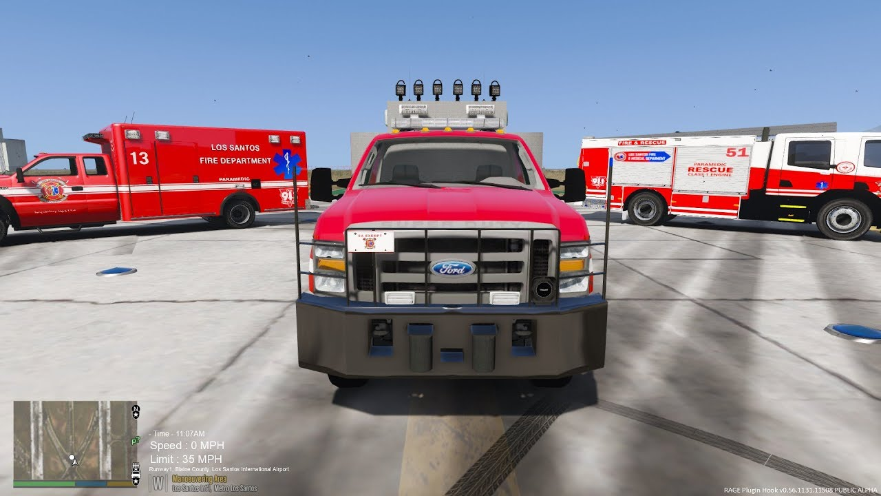 Fire And Ems Pack Lspdfr
