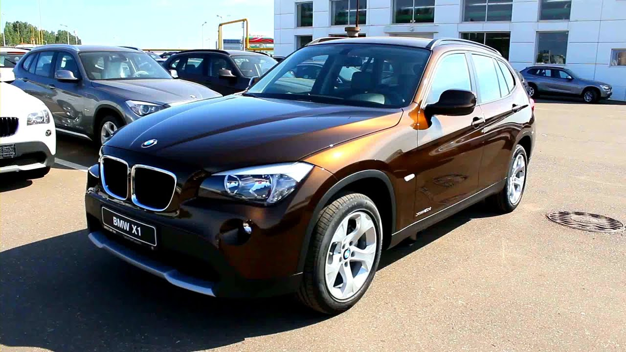 2012 Bmw X1 Start Up Engine And In Depth Tour Youtube