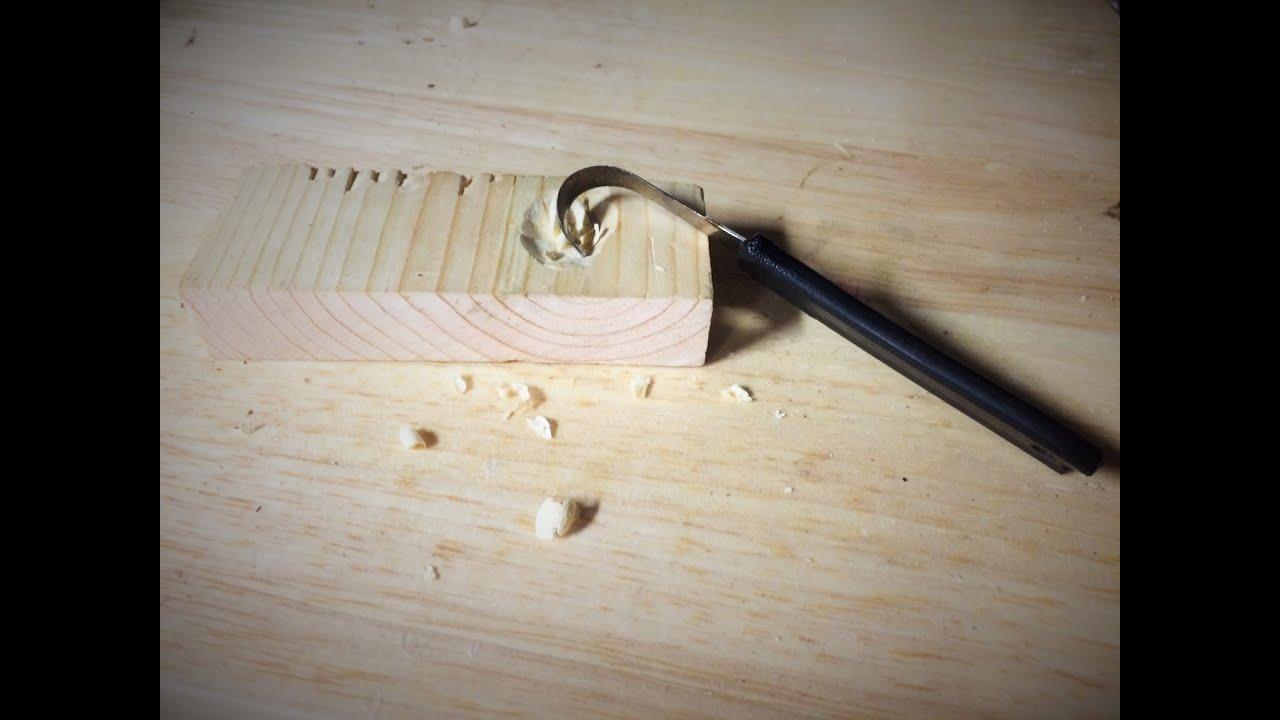 how to make ahook knife