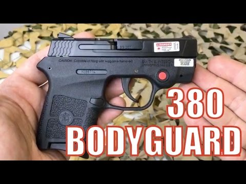 WOW! Smith & Wesson Bodyguard Red Laser 380 Auto Pistol $271 99