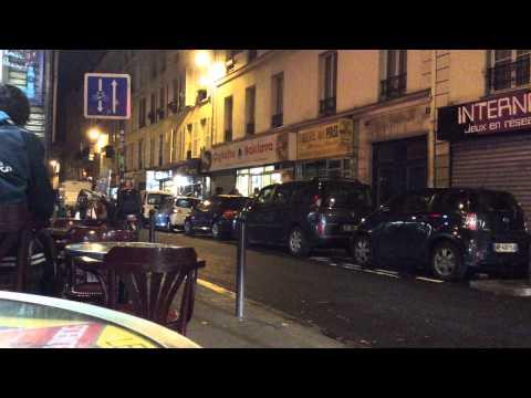 Paris. Evening.