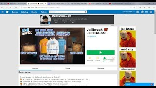 For the first time jailbreak recording! Roblox!