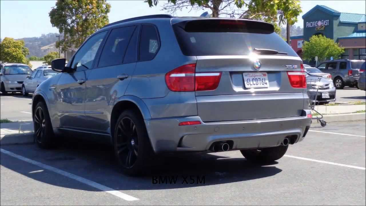 2010 BMW X5M Start up + Accelaration - YouTube