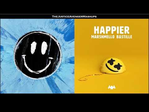 Ed Sheeran VS Marshmello - Happier (Mashup)