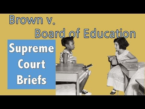 Ending School Segregation | Brown V. Board Of Education