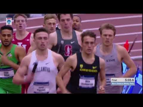 2018 NCAA Indoor Track Championships Men's DMR