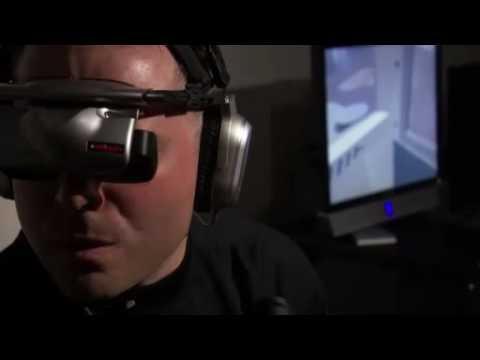 PTSD Therapy Session at VA using Virtual Iraq