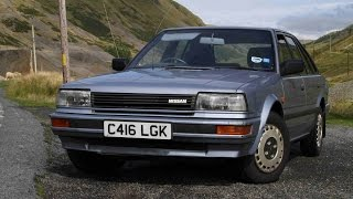 1986 Nissan Bluebird 2.0SLX road test