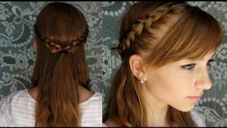 Braided Summer Updo ♥ Heat Free and Product Free Thumbnail