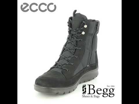 65f291212bc ECCO Babett Boot GORE-TEX 85 215553-51052 Black nubuck winter boots ...