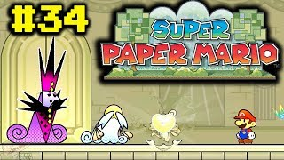 Let's Play Super Paper Mario #34 -  O Coração e a Menina!
