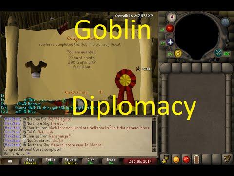 osrs quest goblin diplomacy