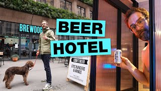 Inside Manchester's Beer Themed Hotel