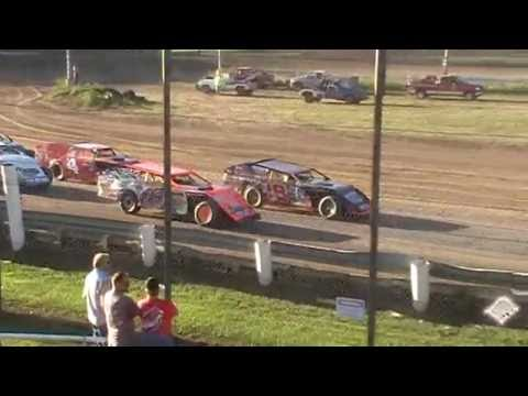 Team 18L Michael Long Heat Win Quincy Raceways 8/21/16