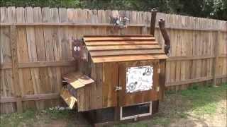 Diy Rustic Steampunk Chicken Coop