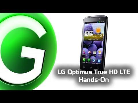 LG Optimus True HD LTE Hands-On - GIGA.DE