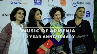 Music of Armenia 10th Anniversary Event