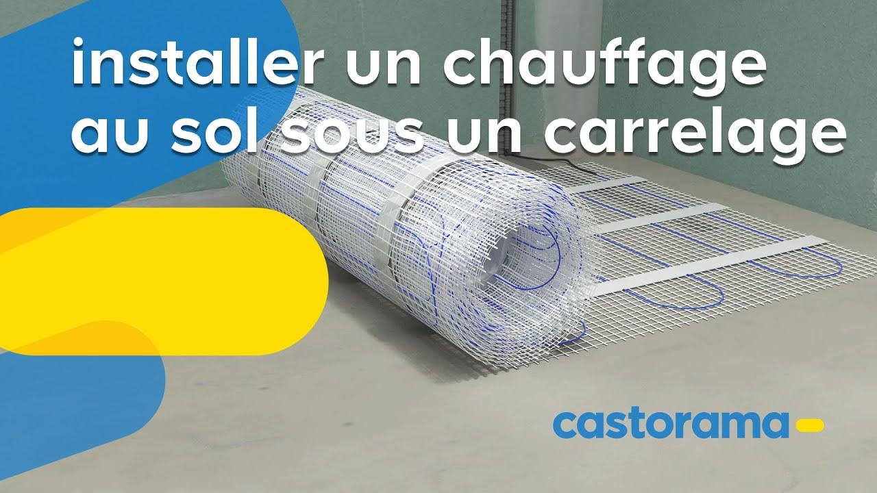 Tapis Sur Chauffage Au Sol comment poser un plancher chauffant électrique | castorama