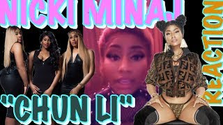 (REACTION) Nicki Minaj - Chun-Li (Music Video)