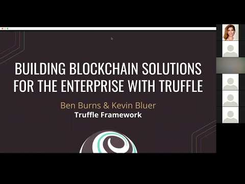 Building Blockchain Solutions for the Enterprise with Truffle