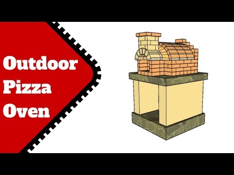 Free Outdoor Pizza Oven Plans