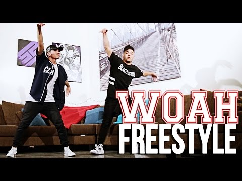 Moosh & Twist - Woah #DanceLikeWoah | Freestyle by D-trix and Green | @DanceOnNetwork