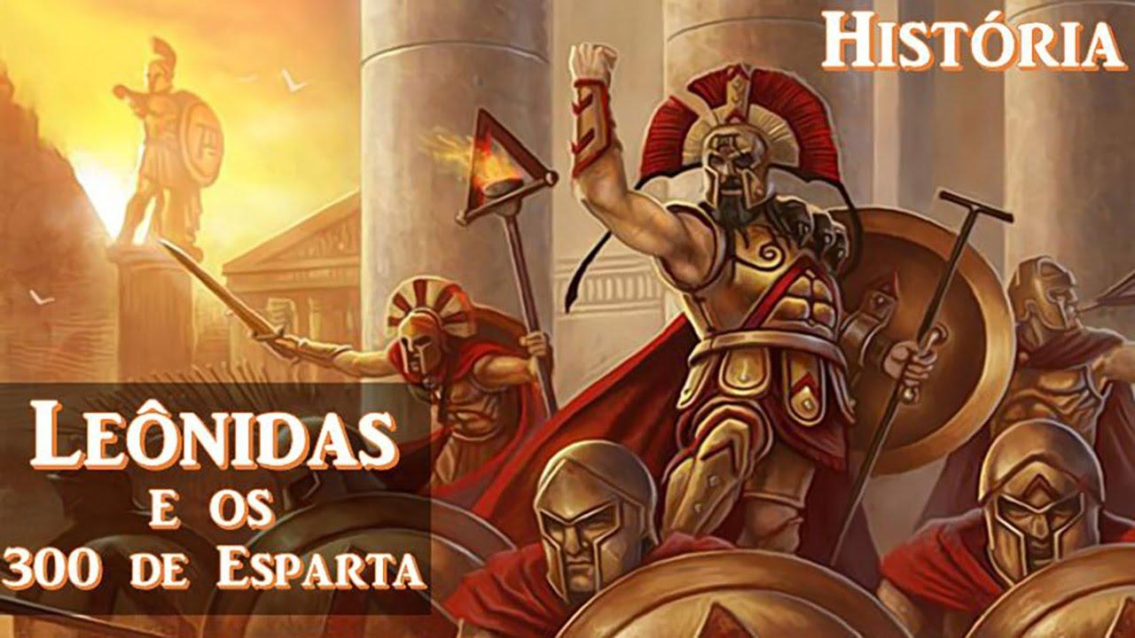 Leônidas e os 300 de Esparta - Batalha das Termópilas (Guerras ...