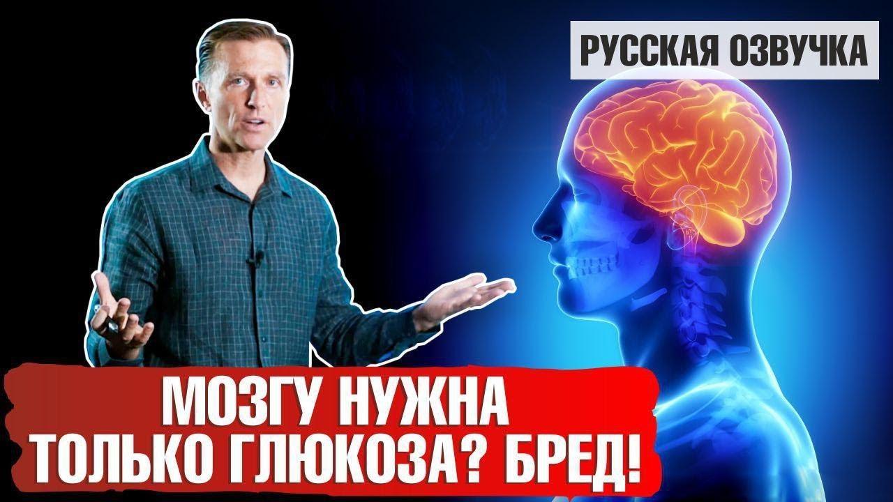 Мозгу нужна только глюкоза? БРЕД!