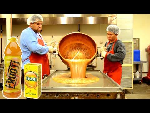 देखिये Factory में कैसे बनाया जाता है मैंगो फ्रूटी (Mango Frooti) // 5 Food Manufacturing Machines