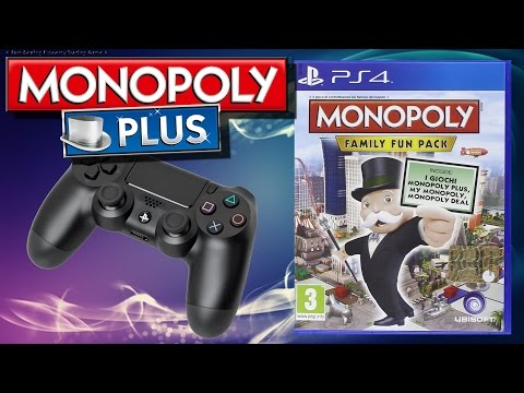 Gameplay Review - MONOPOLY FAMILY FUN PACK - Plus - Part #01
