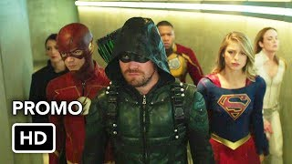DCTV Crisis on Earth-X Crossover Promo #2 The Flash, Arrow, Supergirl, DC's Legends of Tomorrow (HD)