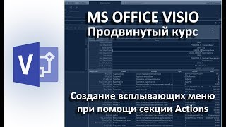 MS Visio. Секция Actions - описание