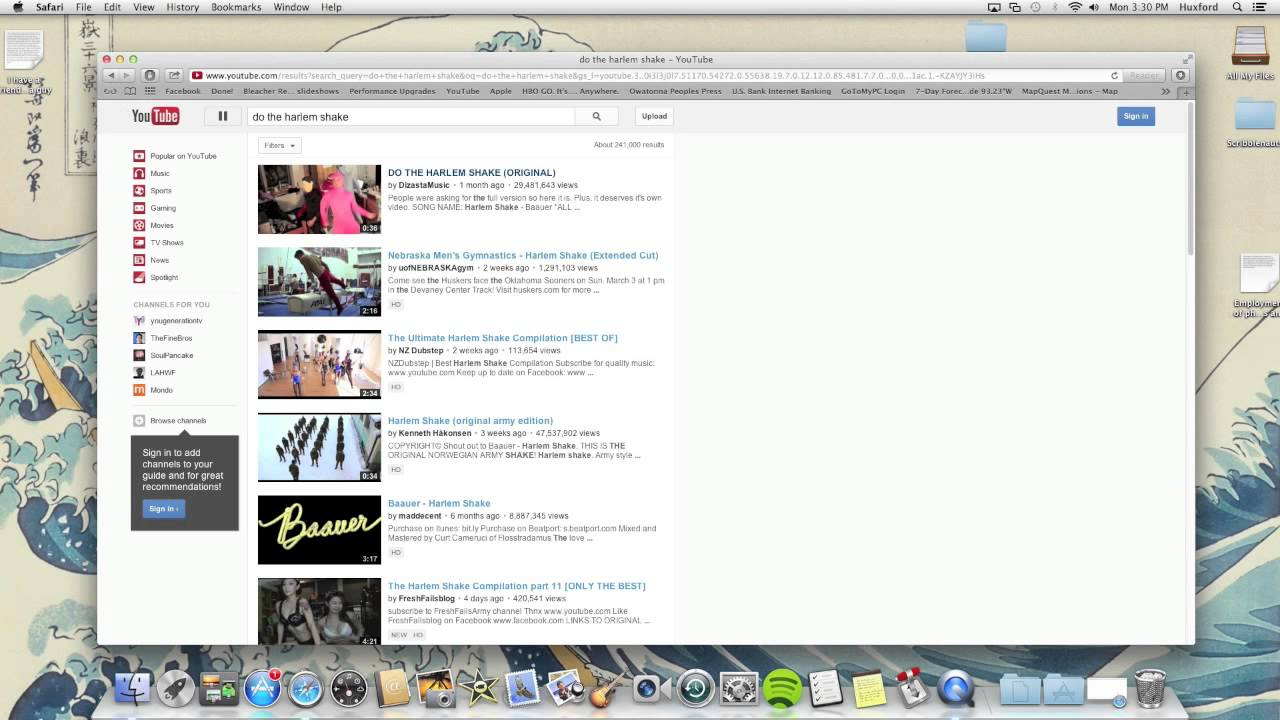 Youtube Harlem Shake - YouTube