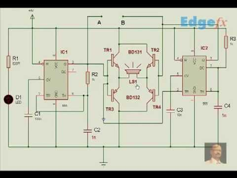 Cat and Dog Repellent Circuit Diagram | General Circuits