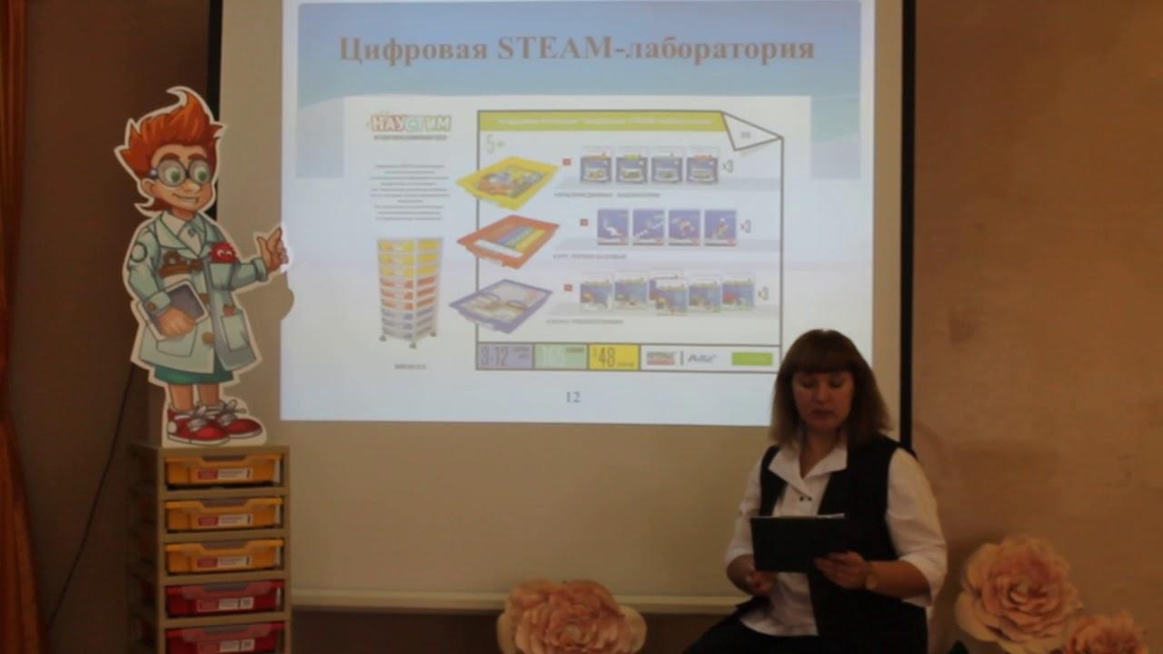 Развитие инженерно-технических способностей у детей посредством интерактивной среды «НАУСТИМ»