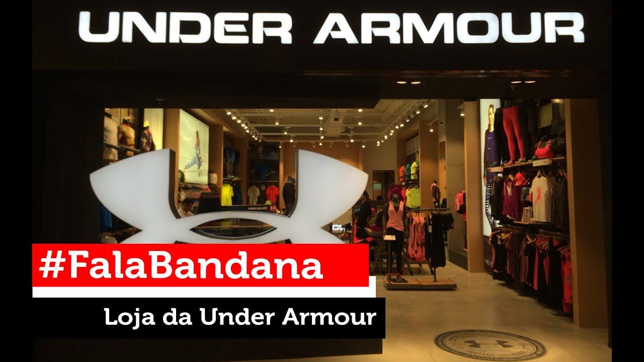 db7759ce700 Fala Bandana! Under Armour Shopping Morumbi - YouTube