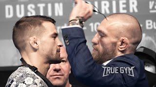 Битва взглядов Конор Макгрегор - Дастин Порье перед боем на UFC 257 / Face off Conor VS Poirier