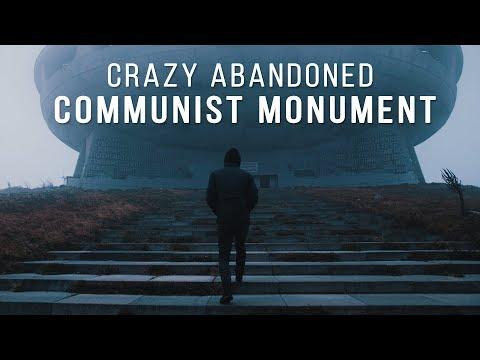 Massive Abandoned Communist Monument | Buzludzha, Bulgaria 🇧🇬