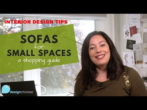 Interior Design Tips: Sofas For Small Spaces - A Shopping Guide!