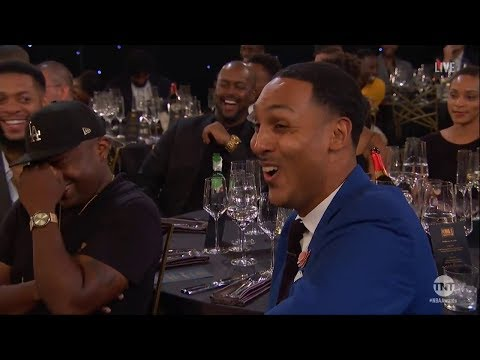 Anthony Anderson Roasts LeBron James & JR Smith at 2018 NBA Awards