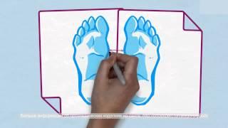 Подбор размера ортопедической обуви или стелек для детей(Ортопедический эксперт (http://www.ortoexpert.ru/) о подборе обуви и стелек. От правильного подбора обуви или стелек..., 2014-01-24T06:35:34.000Z)