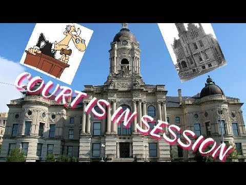 COURT IS IN SESSION old Court House Walk thru no sound for some reason 😕😲😖😟😩