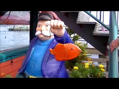 Highlights Of Fisherman's Wharf (Monterey). Amazing Sea Food In HD!