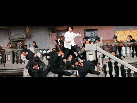 SINGLE KUNG-FU ASIAN BEATS UP MAFIA (One finger death punch)