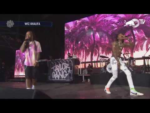 Wiz Khalifa & Ty Dolla $ign @ Lollapalooza - Something New (LIVE)