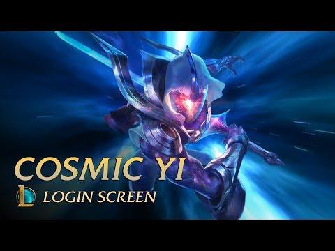 Cosmic Blade Master YI | Login Screen - League of Legends [UNOFFICIAL]