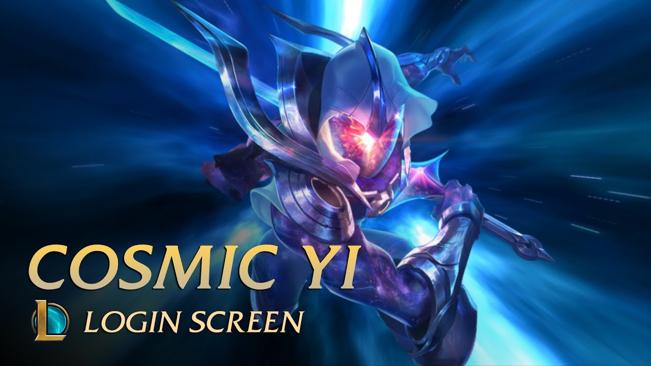 Cosmic Blade Master Yi Login Screen League Of Legends