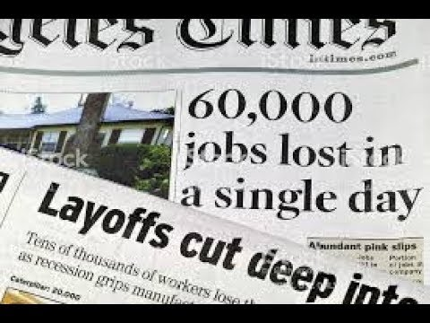 WAKE UP We Are In A Resession Layoffs, GM, Starbucks, Wells Fargo, Store Closures