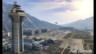 GTA 5 tour of the military base